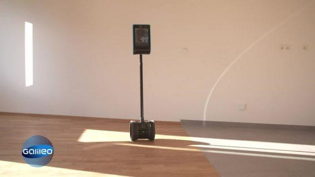 G-checkt: Wohnungsbesichtigung per Roboter