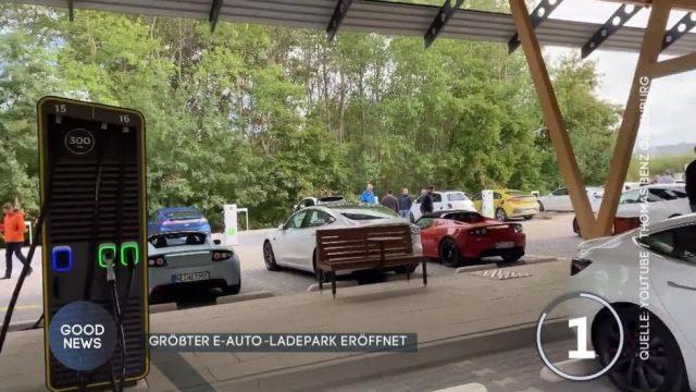 Hier entsteht Deutschlands größter E-Auto-Ladepark
