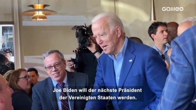 Joe Biden: Ein Portrait des vielleicht bald ältesten Präsidenten der USA