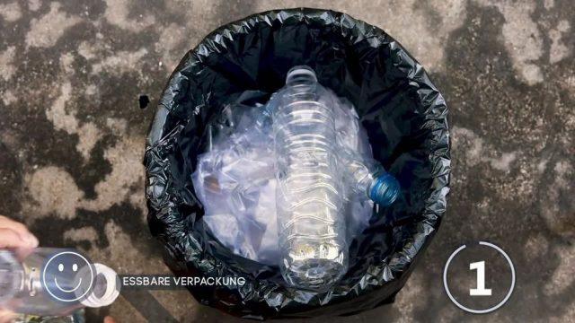 Kampf gegen Plastikmüll: Sind essbare Verpackungen aus Algen die Lösung?