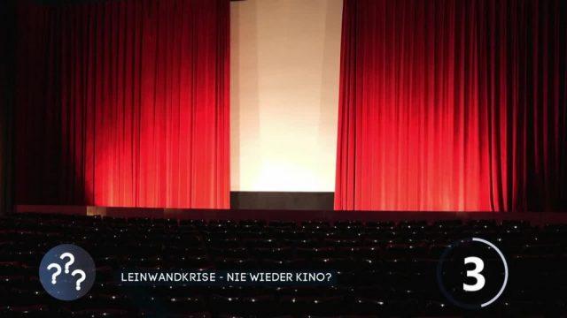Keine Filme, keine Gäste: Kino in der Krise?