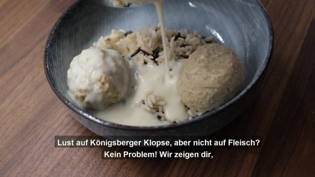 Königsberger Klopse ohne Fleisch