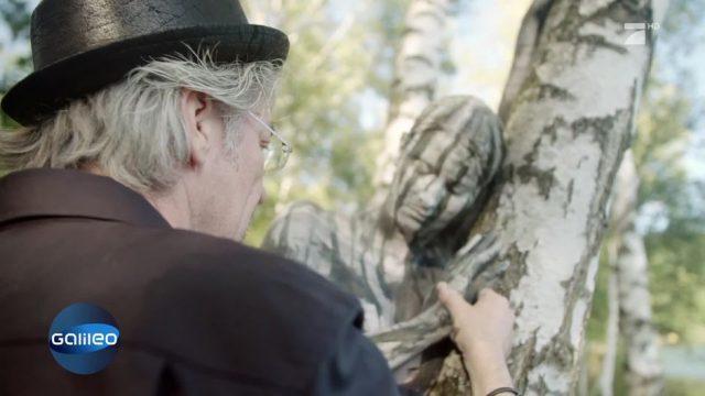 Magische Illusion: Dieser Mann lässt Menschen in Bildern verschwinden