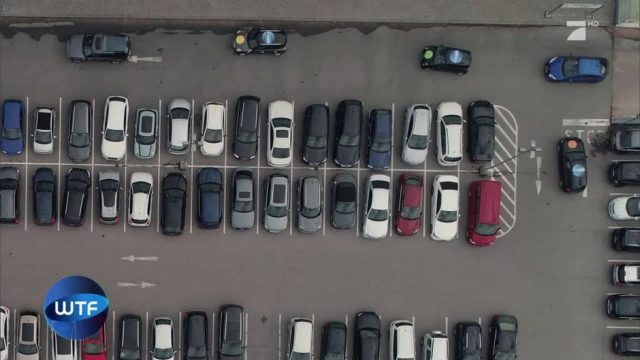 Parkplatz-Experiment: So wird einem die Suche erleichtert