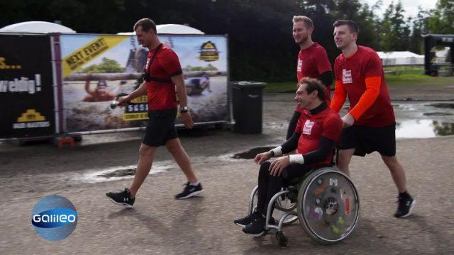 Rulebreaker: Sportstudent im Rollstuhl