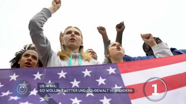 Twitter und Co. wollen Gewalt während US-Wahl verhindern