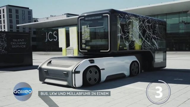 U-Shift: Bus, LKW und Müllabfuhr in einem