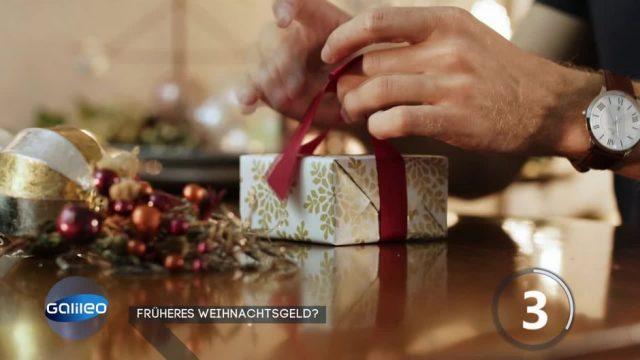 Weihnachtsgeld früher bekommen - Was steckt dahinter?