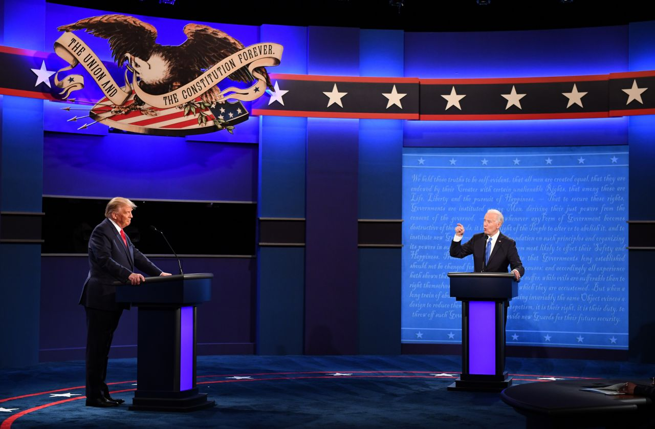 Donald Trump Joe Biden TV-Duell