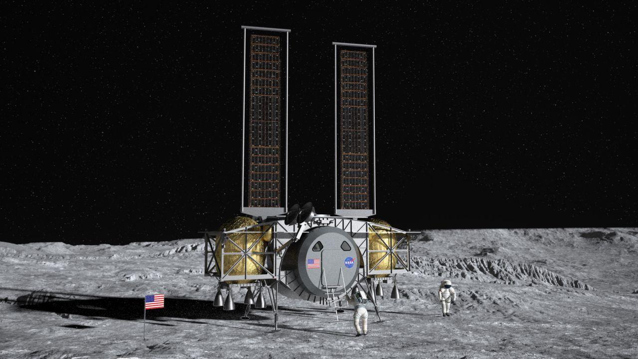 Die Mondfähre der Firma Dynetics