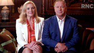 Das Ehepaar McCloskey unterstützt Donald Trump