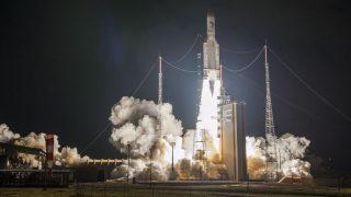 Die Ariane 5 beim Start