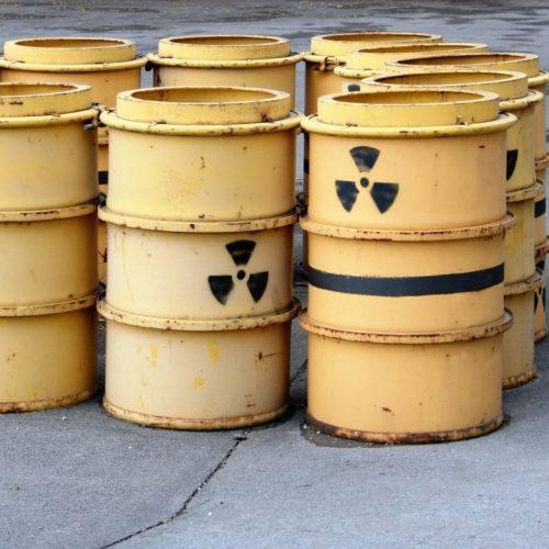 Atommüll in gelben Tonnen