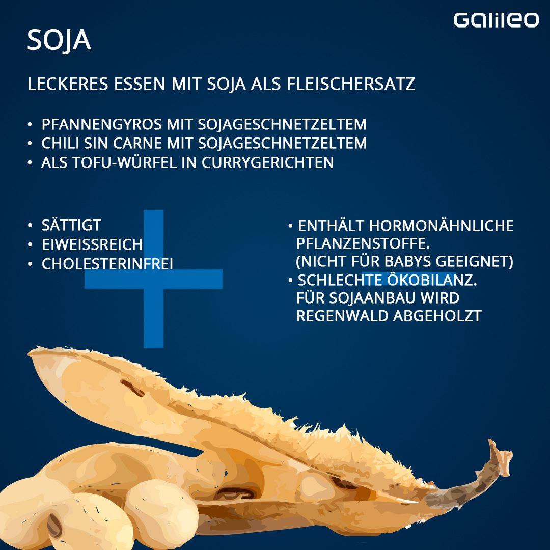 Soja als Fleischersatz