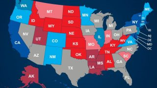 US Bundesstaaten und Wahlmänner