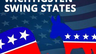 Die wichtigsten Swing States der USA