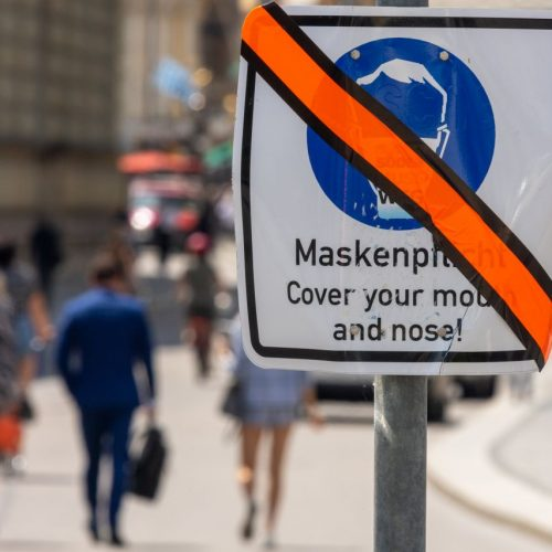 Aufhebung der Maskenpflicht
