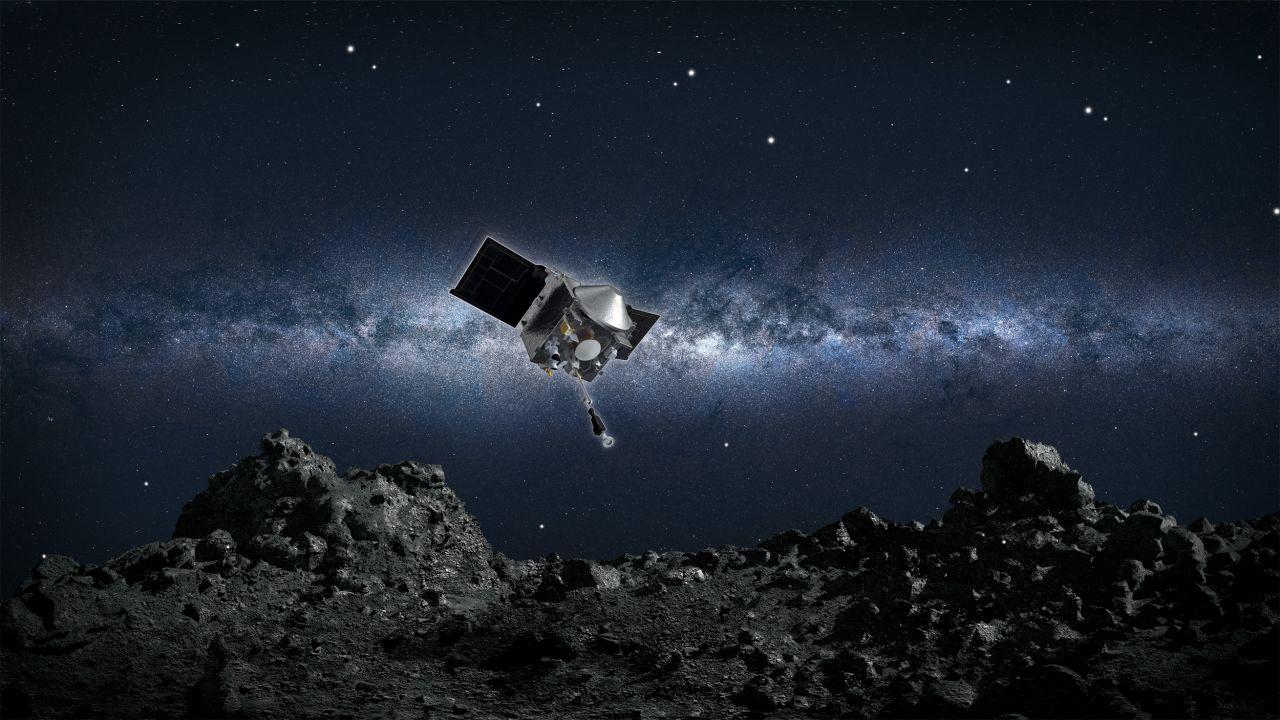 Die Sonde OSIRIS-REx