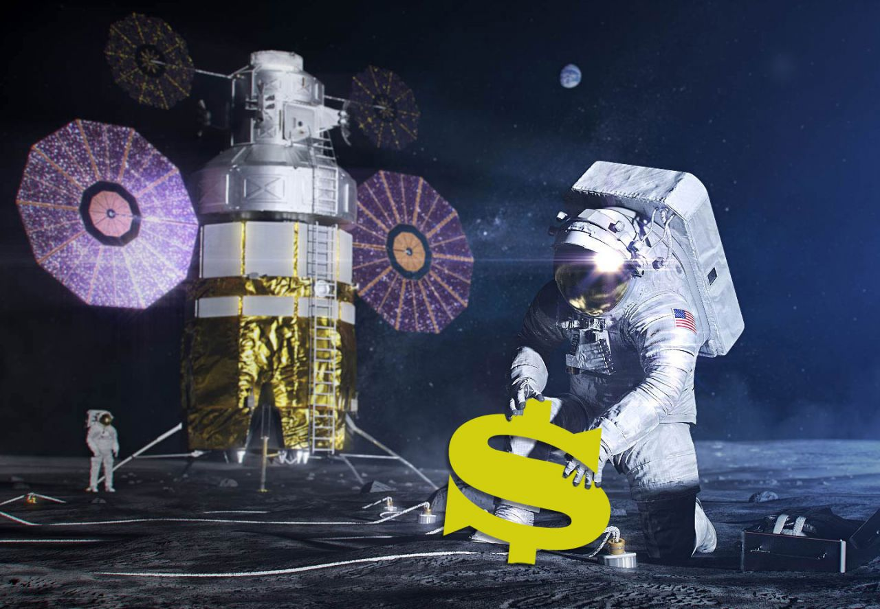 Milliardenunternehmen Mondmission
