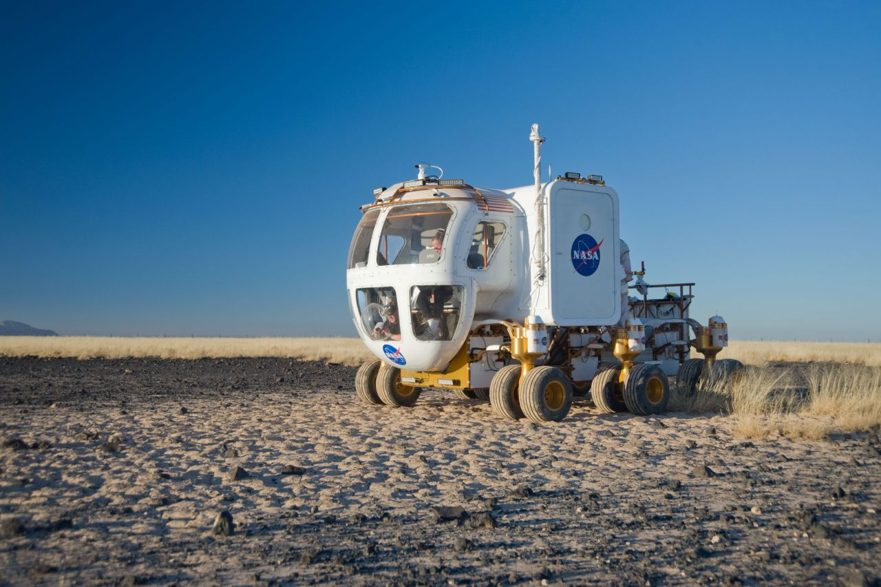 NASA Lunar Rover im Test