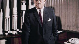 Raketenkonstrukteur Wernher von Braun