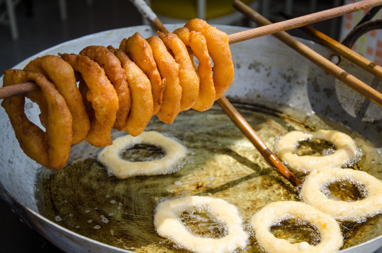 Picarones aus Peru