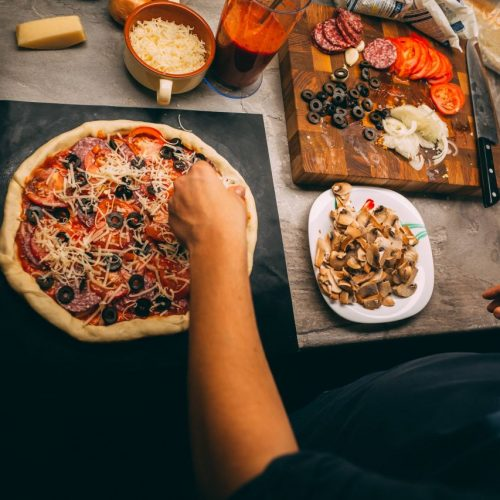 Pizza backen zuhause