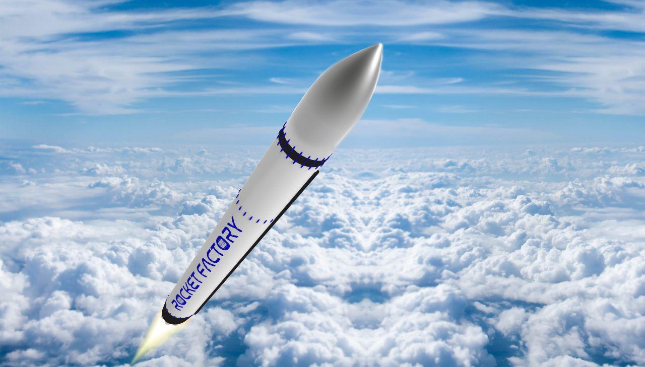 Die Rakete der Rocket Factory Augsburg