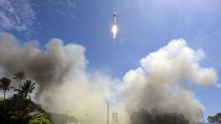 4. Start der Falcon 1 von SpaceX