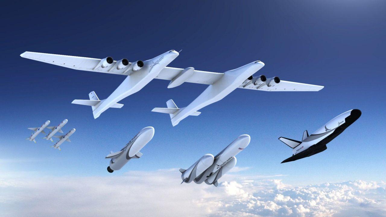 Das Trägerflugzeug von Stratolaunch