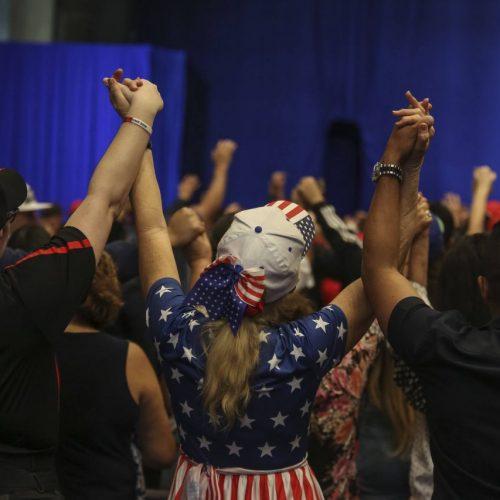 Wahlkampf in den Swing States der USA