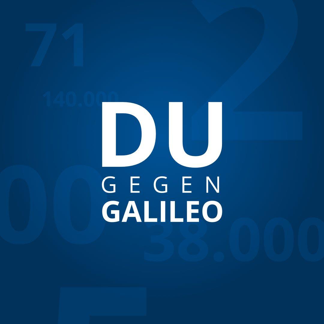 Du gegen Galileo - Wer ist näher dran an der richtigen Lösung?