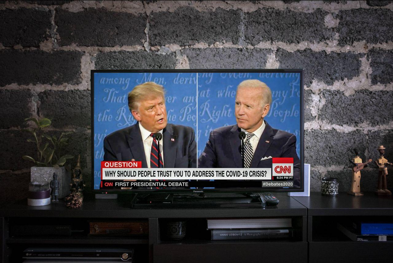 Trump und Biden im ersten TV-Duell 2020