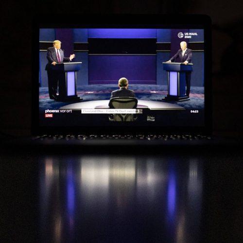 TV-Duell im US-Wahlkampf zwischen Trump und Biden