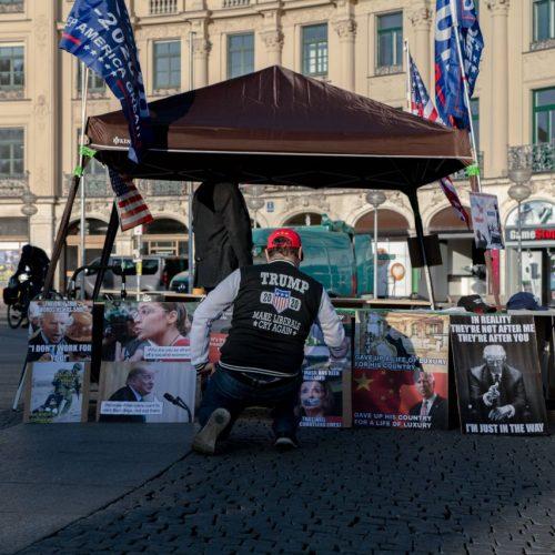 US-Wahlkampf in Deutschland