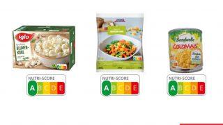 Nutri-Score von Gemüse