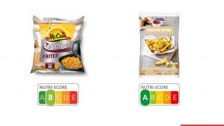 Nutri-Score von Pommes