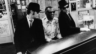 Ray Charles mit den Blues Brothers