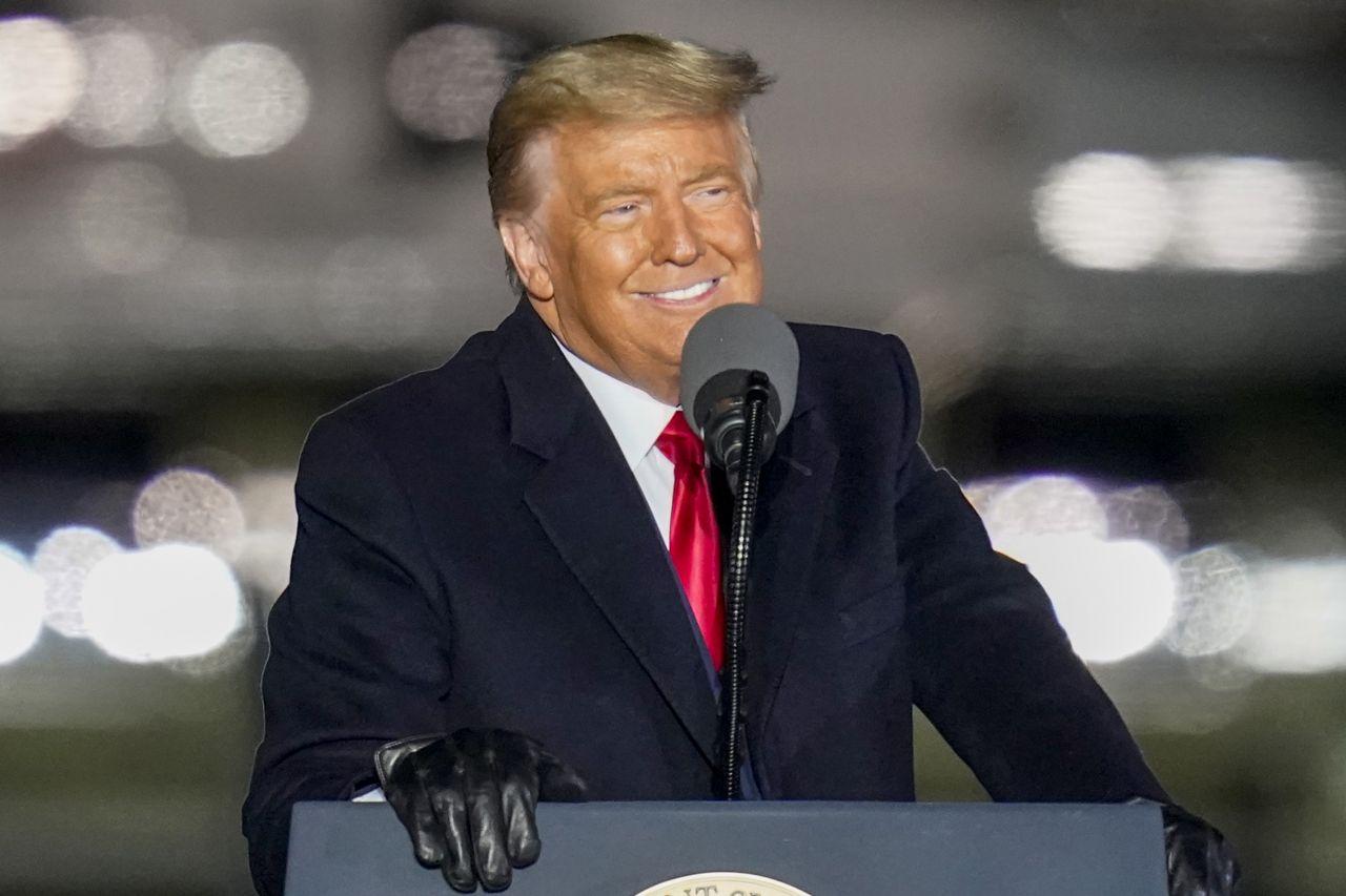 Donald Trump bei einer Rede