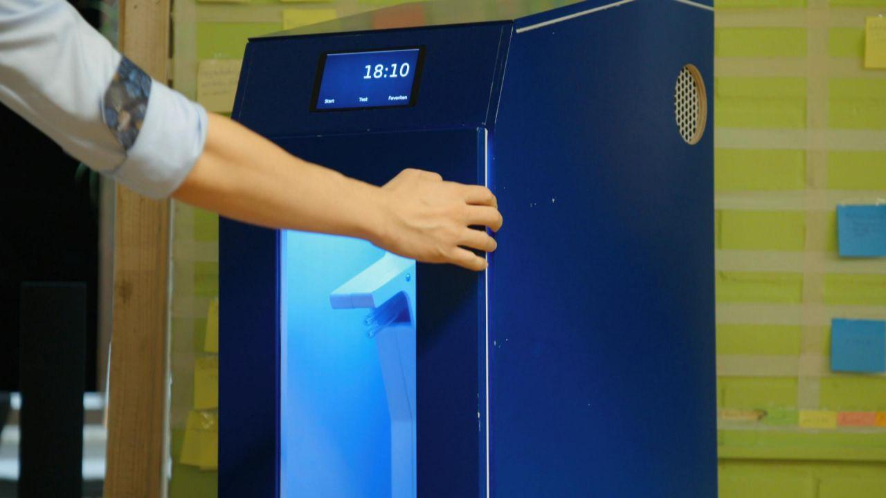 Waschen ohne Wasser? UV-Licht macht's möglich