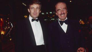 Donald Trump mit Vater Fred Trump