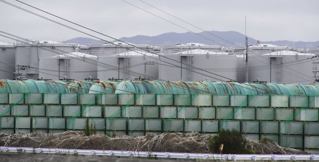 Fukushima Wassertanks