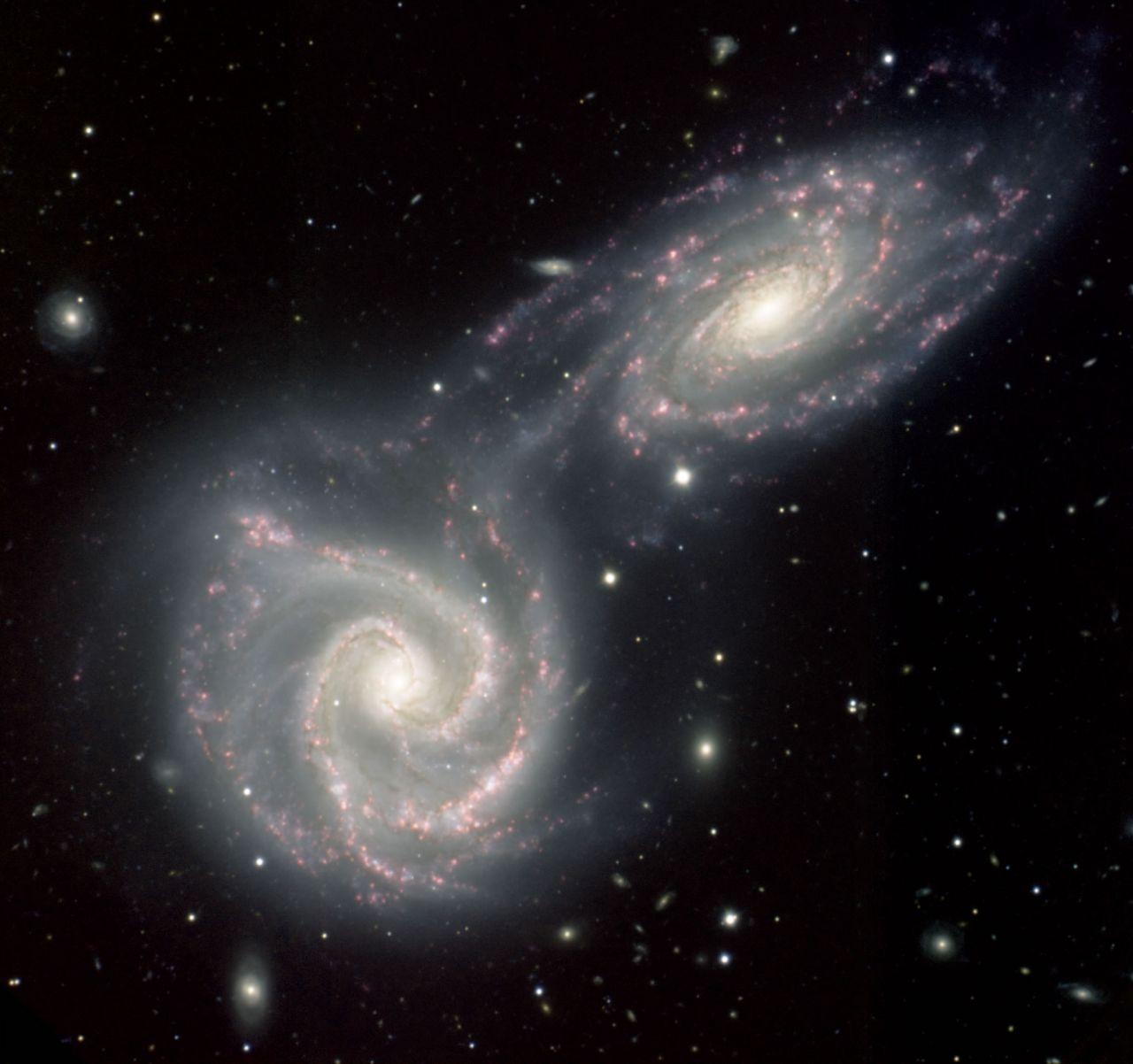 Galaxien kollidieren
