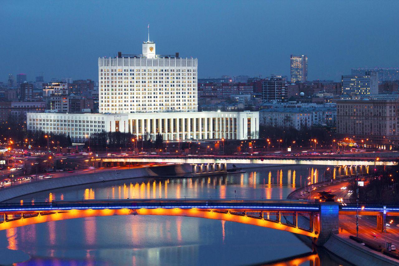 russisches Weißes Haus