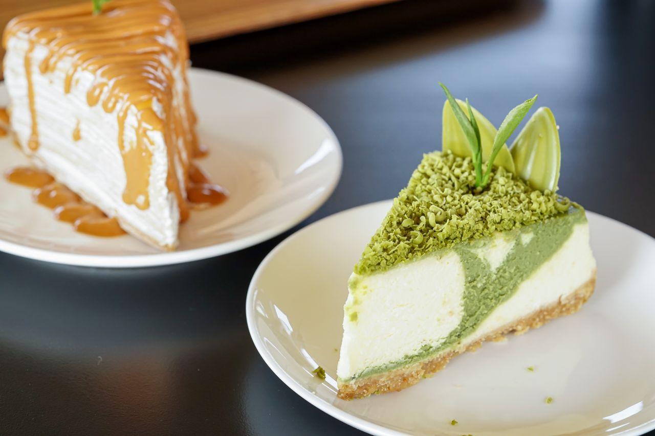 Thai Milk Tea Cheese Cake