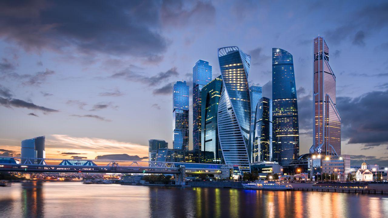 Stadtteil Moskau City
