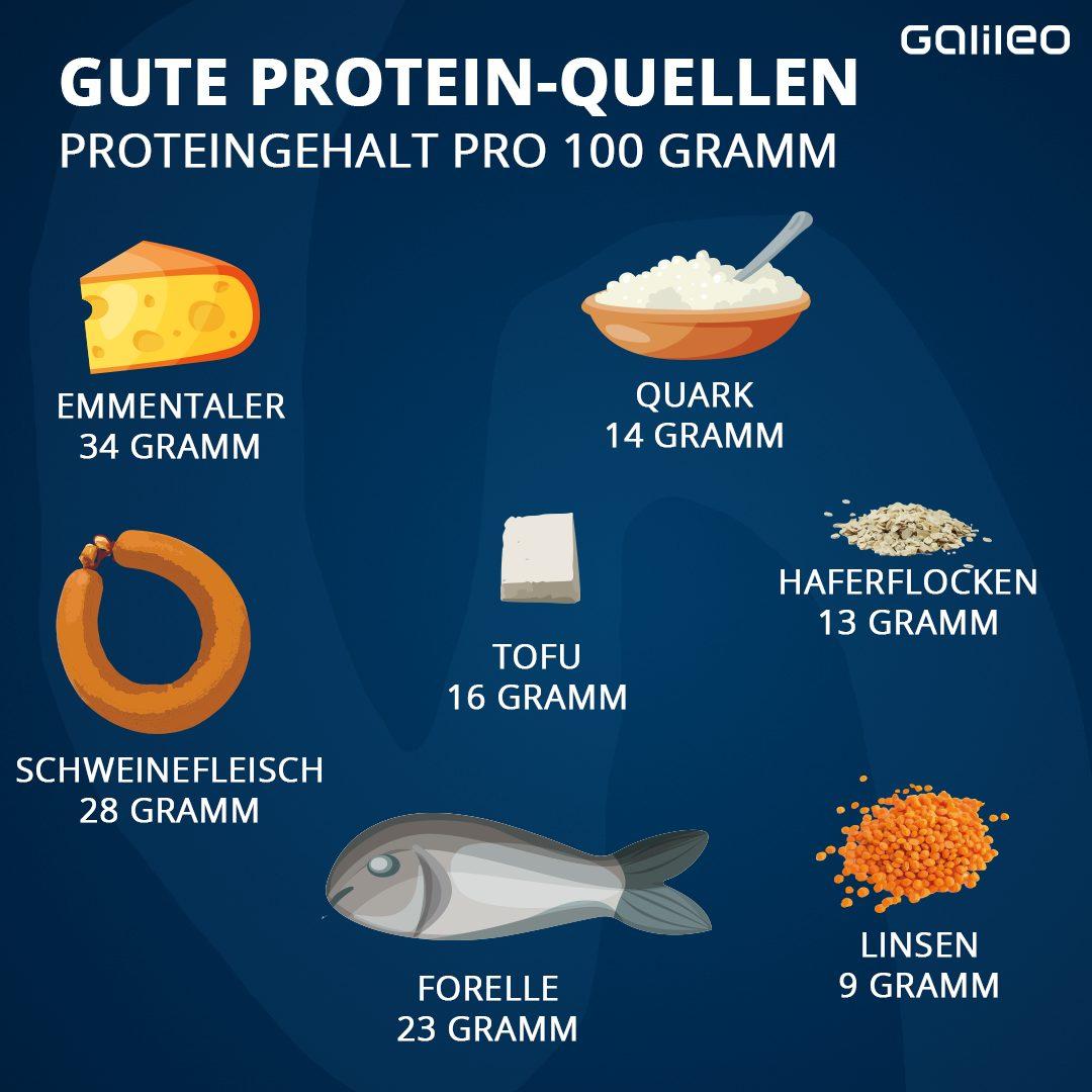 Gute Proteinquellen