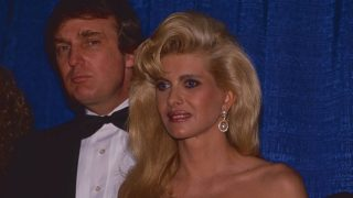 Donald und Ex-Frau Ivana Trump