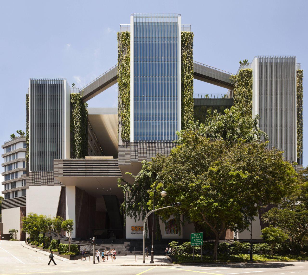Parkroyal on Pickering Singapur