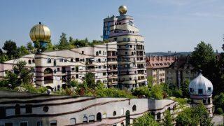 """Hundertwassers Werk """"Waldspirale"""""""
